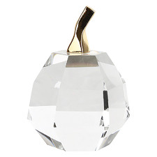 Gladys Apple Glass Ornament