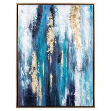 Sea Mine Framed Canvas Wall Art