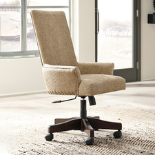 Beige Franco High Back Office Chair