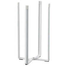 White Tosca Metal Kitchen Echo Stand