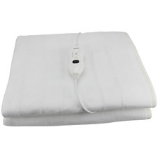 Solid  Single Electric Blanket