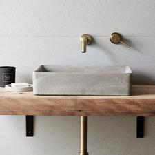 Lux Rectangular Concrete Basin