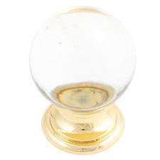 Sovereign Clear Crystal Knob
