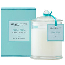 Bora Bora (Cilantro & Orange Zest) Triple Scented Candle