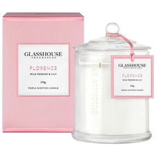 350g Florence (Wild Peonies & Lily) Triple Scented Candle