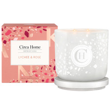 260g Lychee & Rose Scented Soy Candle