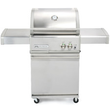 Crossray Infrared 2 Burner Trolley BBQ Grill