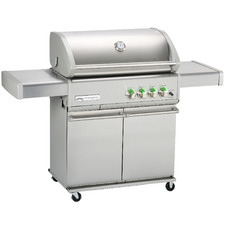 Crossray Infrared 4 Burner Trolley BBQ Grill