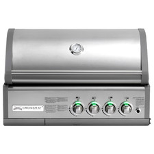 Crossray Infrared 4 Burner In-Built BBQ Grill