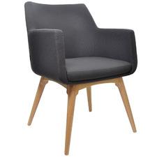 Charcoal Hady Armchair