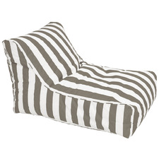 Striped Chill Out Outdoor Beanbag Cover