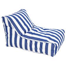 Striped Aldrich Outdoor Beanbag Cover