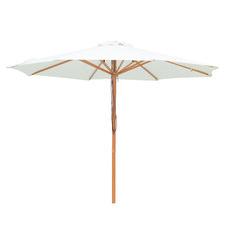 Cream Aluminium Market Umbrella