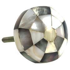 Checkered Octagonal Shell Knob