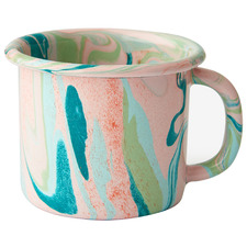 Blush Marble 300ml Enamel Mug