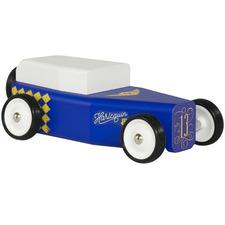 Harlequin Wooden Toy Car