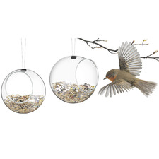 Mini Eva Solo Glass Bird Feeders (Set of 2)