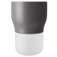 Grey & White Self Watering Flowerpot