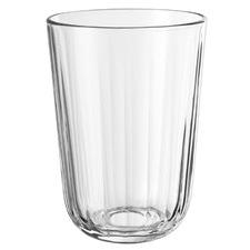 Facet 340ml Glass Tumblers (Set of 4)