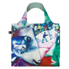 2 Piece Marc Chagall Shopping Bag & Pouch Set