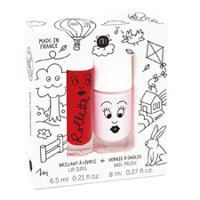Kids' 2 Piece Cottage Lip Gloss & Nail Polish Gift Pack