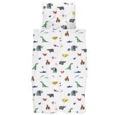 Paper Zoo Cotton Quilt Cover Set