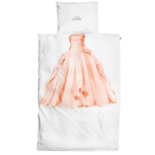 Peach Princess Cotton Quilt Cover Set