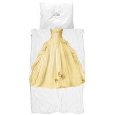 Yellow Princess Cotton King Single Quilt Cover Set