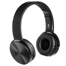 Black AIR Luxe On-Ear Wireless Headphones