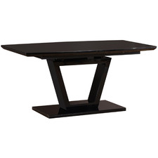 Shane Glass-Top Extendable Dining Table