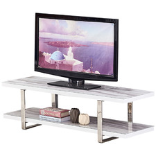 Leona Glass-Top TV Unit