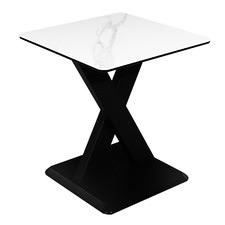 White Artemis Ceramic Side Table