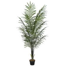 190cm Potted Faux Areca Palm Plant