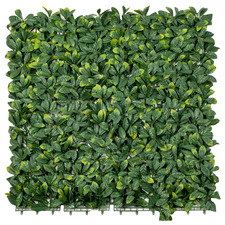 100cm Square Faux Laurel Wall Panel