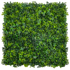 100cm Square Spring Sensation Faux Foliage Wall Panel