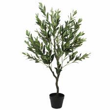 125cm Faux Olive Tree