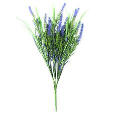 50cm Faux Long Stem Lavenders (Set of 3)