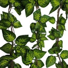 260cm Faux Pothos & Ivy Hanging Vines (Set of 5)