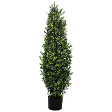 120cm Potted Faux Buxus Tree
