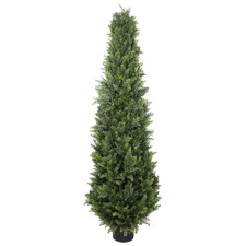 180cm Potted Faux Cypress Pine Tree