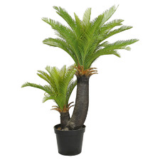 130cm Potted Faux Sago Cycad Palm Plant