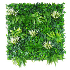 100cm Faux Grassy Greenery Vertical Garden Wall Panel
