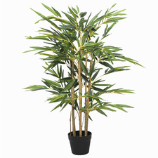 90cm Potted Faux Twiggy Japanese Bamboo Plant