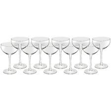 Let's Pop Some Bottles 240ml Champagne Glasses (Set of 10)