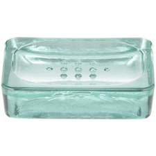London Glass Soap Dish