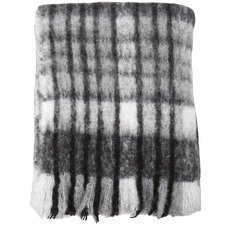 Knitted Bowen Wool-Blend Throw