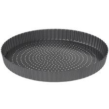 CrispyBake Loose Base 30cm Non-Stick Quiche Tin