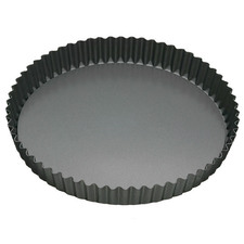 Loose Base 23cm Round Non-Stick Quiche Tin
