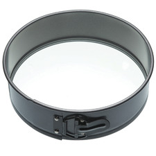 27cm Round Springform Cake Pan with Glass Base