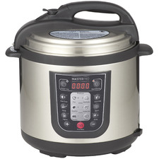 Silver 6L Stainless Steel Multi-Cooker